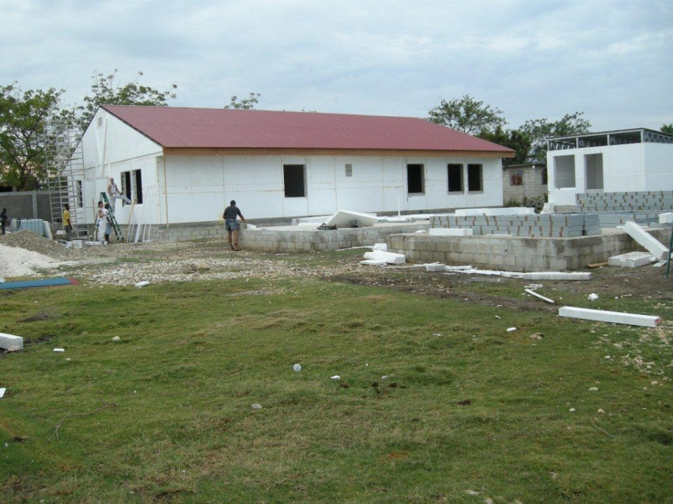 De Waterschool in juni 2012 op Haiti