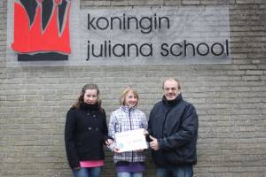 Sponsorloop kinderen Kon. Julianaschool Kollum